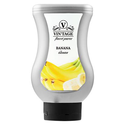 Фруктовое пюре Банан 650 грамм