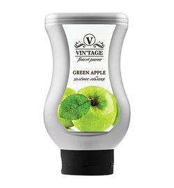 Фруктовое пюре Зеленое яблоко 650 грамм