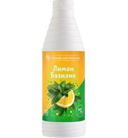 Основа для напитков Лимон-Базилик ProffSyrup 1 кг