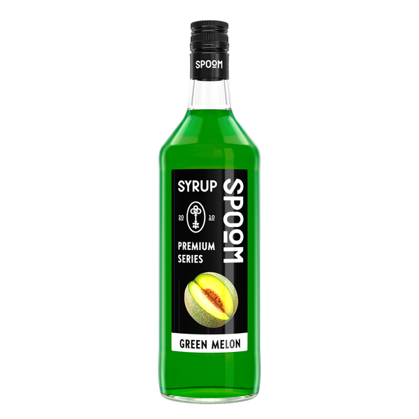 Сироп ДЫНЯ ЗЕЛЁНАЯ Spoom, Объём: 1 литр