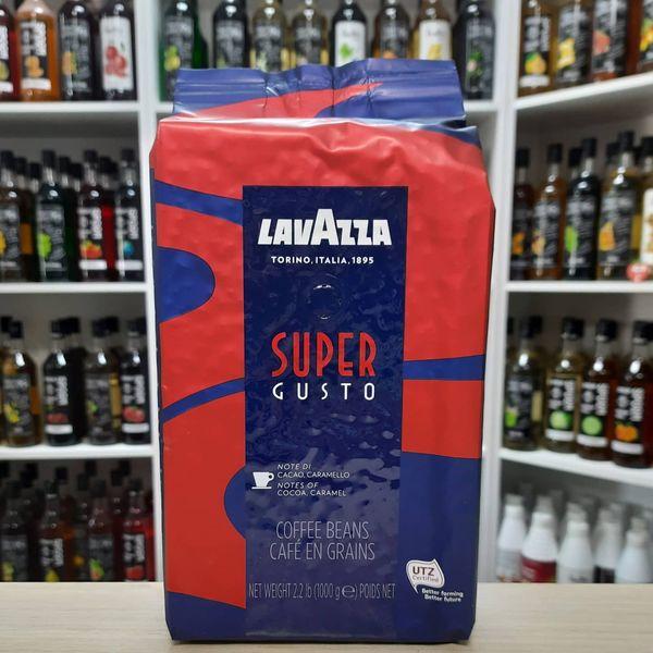 Кофе в зернах Lavazza Super Gusto 1 кг, изображение 2